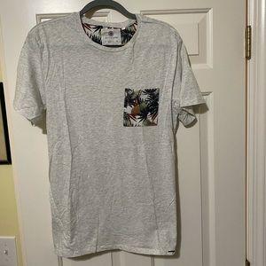 On the byas pacsun new designer shirt M
